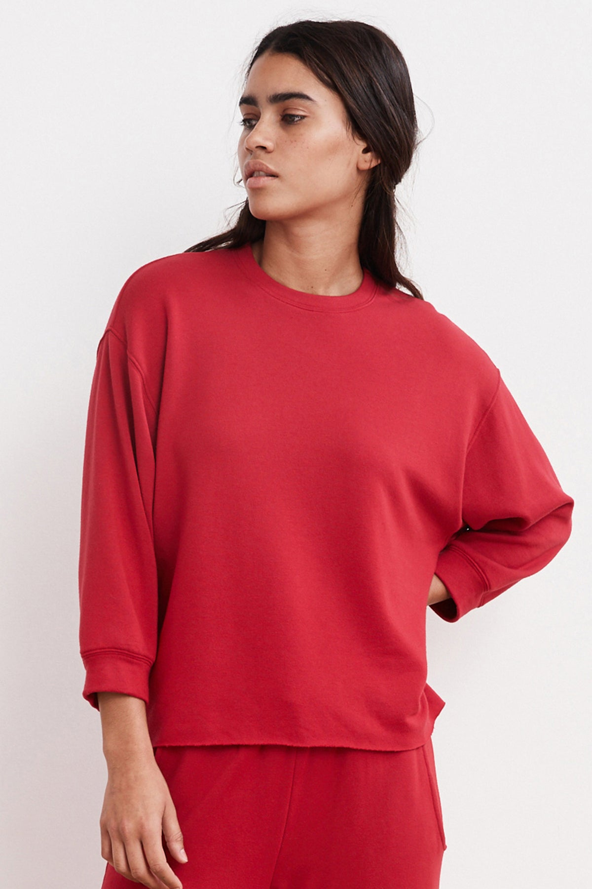 ANELLY LUXE FLEECE PULLOVER