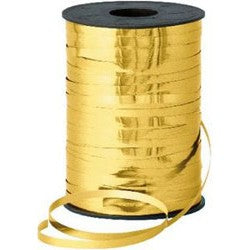 CURLING RIBBON - GOLD METALLIC - 250 YDS
