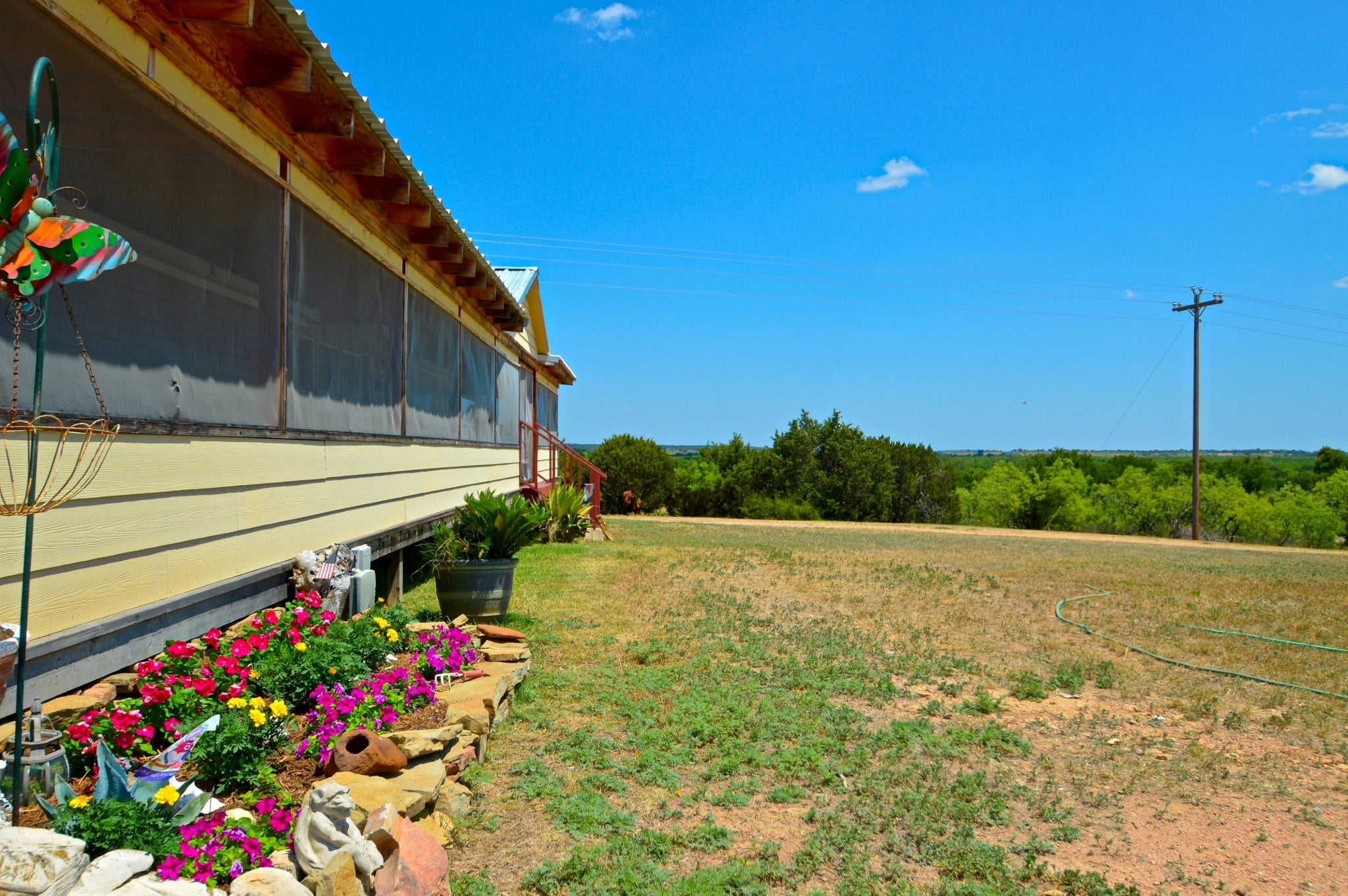 SOLD!  93+/- Acres with 3 Bedroom 2 Bath Manufactured Home in Mills County Texas