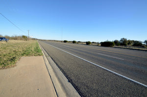 40+/- Acres of Commercial Property in Lometa, Tx with over 2,300 feet of BNSF Railway & over 1,100 feet of Hwy 183