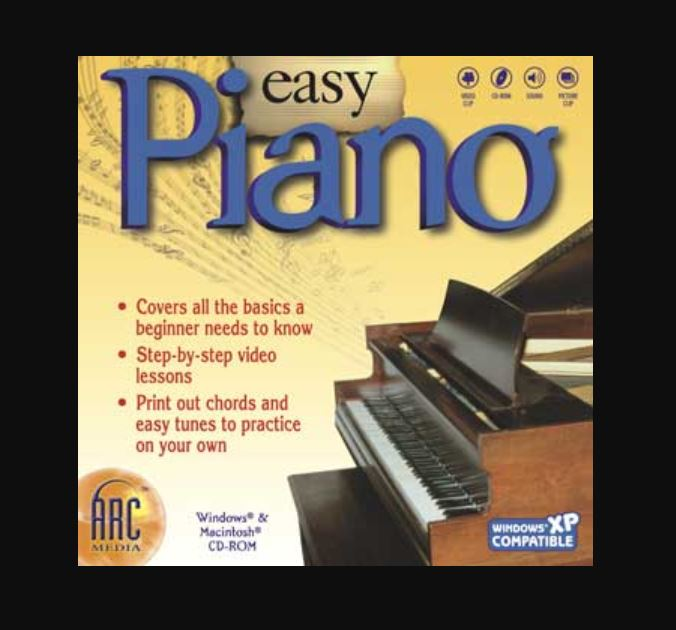 Easy Piano computer music learning program
