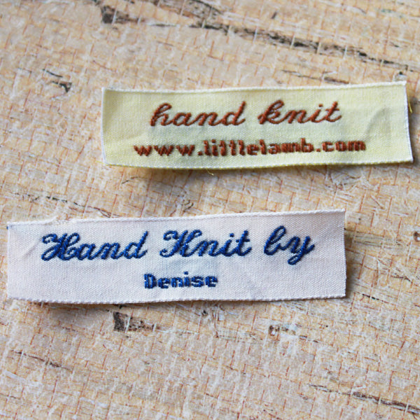 Woven Label F94 - 2 Lines of Text
