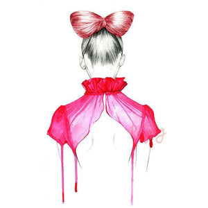 Shop Rongrong - Red Bow Hair