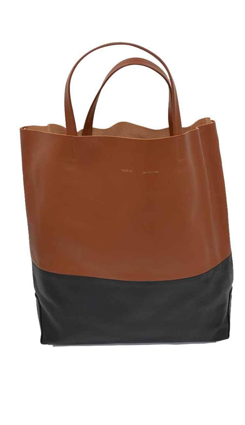 Siena & Black tote by Alice d