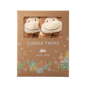 Cuddle Twins- Brown Monkey