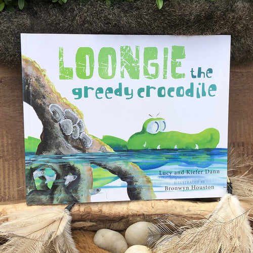 Loongie the greedy crocodile by Lucy and Kiefer Dann