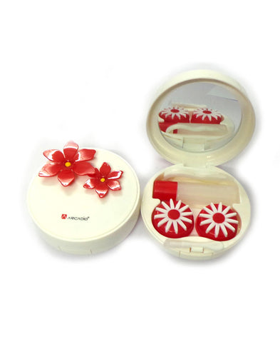 DAISY - Designer Contact Lens Cases - A8063RDS - ARCADIO LIFESTYLE