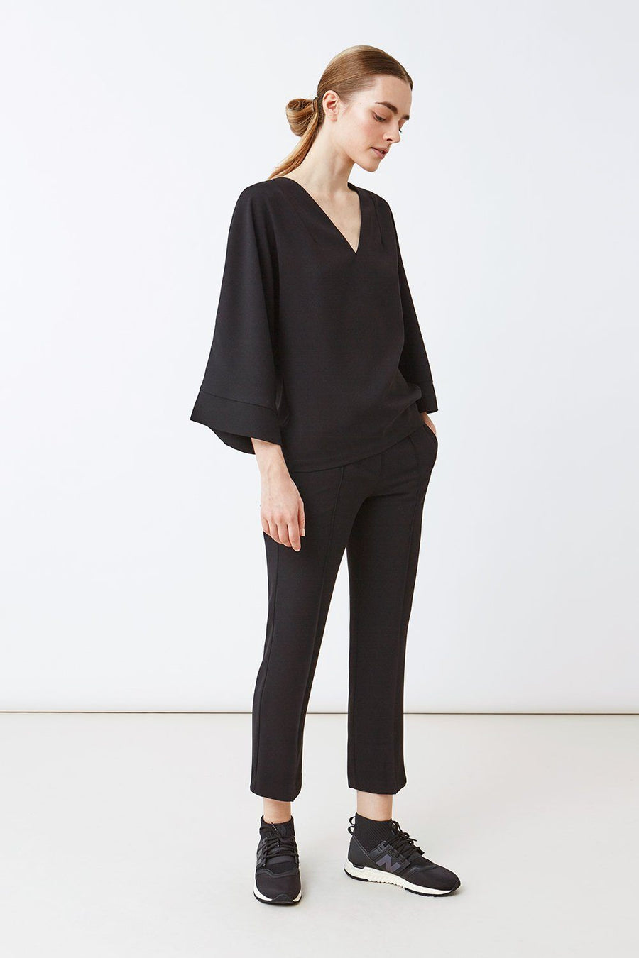 BAYLIE TOP - BLACK