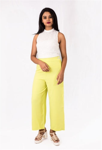 Lemon Green Palazzos
