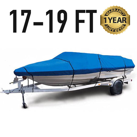 Universal Boat Cover : 17-19 FT : 1 Year Warranty