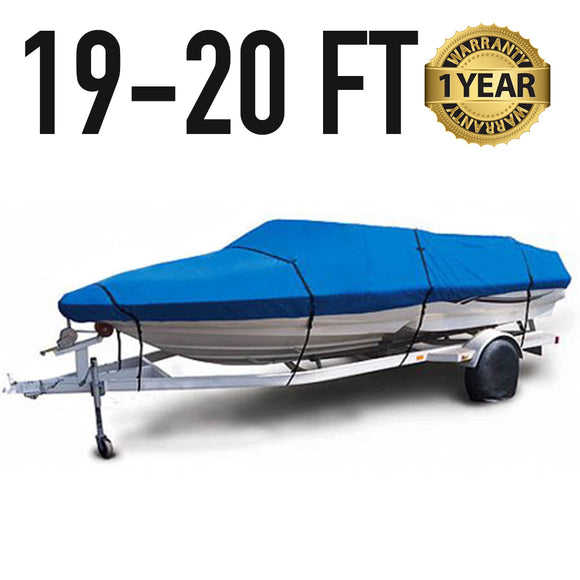 Universal Boat Cover : 19-20 FT : 1 Year Warranty