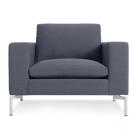 New Standard Lounge Chair in Nixon Blue