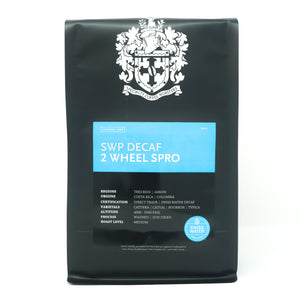 SWP Decaf 2 Wheel Spro | Golden Bean Silver Medal Winner