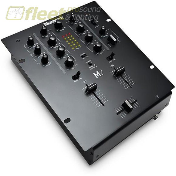 Numark M2Black 2-Channel Scratch Mixer Dj Mixers