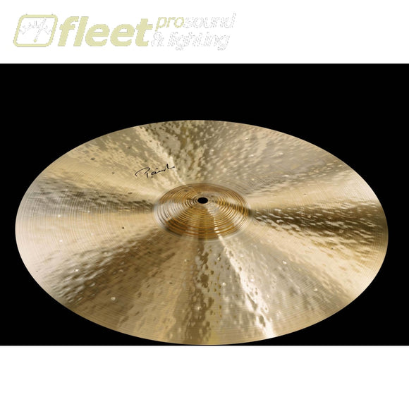 Paiste 4301520 Signature Traditionals 20 Light Ride RIDE CYMBALS
