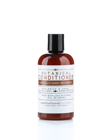 Chocolate Honey Decadence Botanical Conditioner Front View 8fl oz