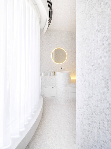 The Apartment of Perfect Brightness by ASAP/ Adam Sokol Architecture Practice Bathroom