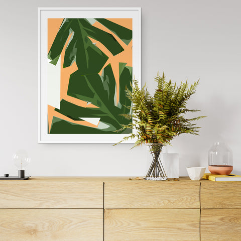 contemporary botanical art prints