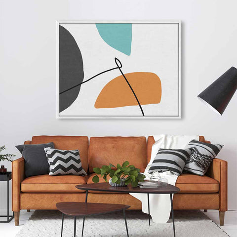 large contemporary abstract canvas prints