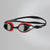 Mariner Supreme Mirror Goggles, Lava Red/Black/Chrome