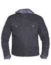 Motorcycle Jacket- Unik 3520.00 Men's Twill Textile Jacket