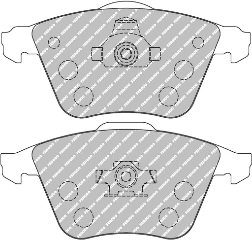 Ferodo DS Performance Front Brake Pads for Volvo C30 T5