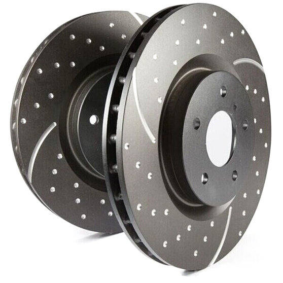 EBC Turbo Grooved Rear Brake Discs for Honda Civic (EK)