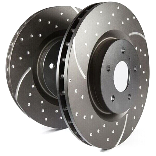 EBC Turbo Grooved Front Brake Discs for Alfa Romeo 159