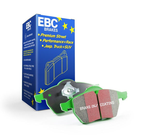 EBC Greenstuff Front Brake Pads for Ford Fiesta ST (MK6)