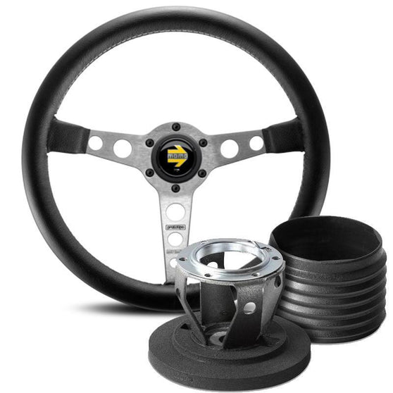 MOMO Prototipo Steering Wheel and Hub Kit for Vauxhall Astra (G)