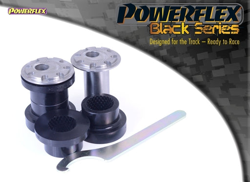 Powerflex Black Series Front Wishbone Front Bush Camber Adjustable 14mm Bolt Kit for Ford Focus RS (MK2)