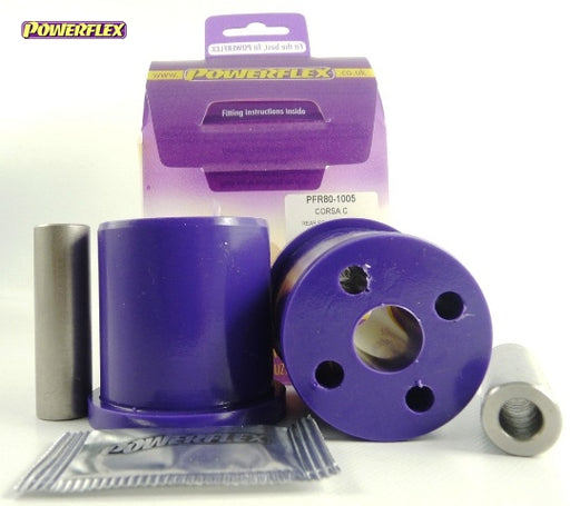 Powerflex Rear Beam Mounting Bush Kit for Vauxhall Corsa (C)