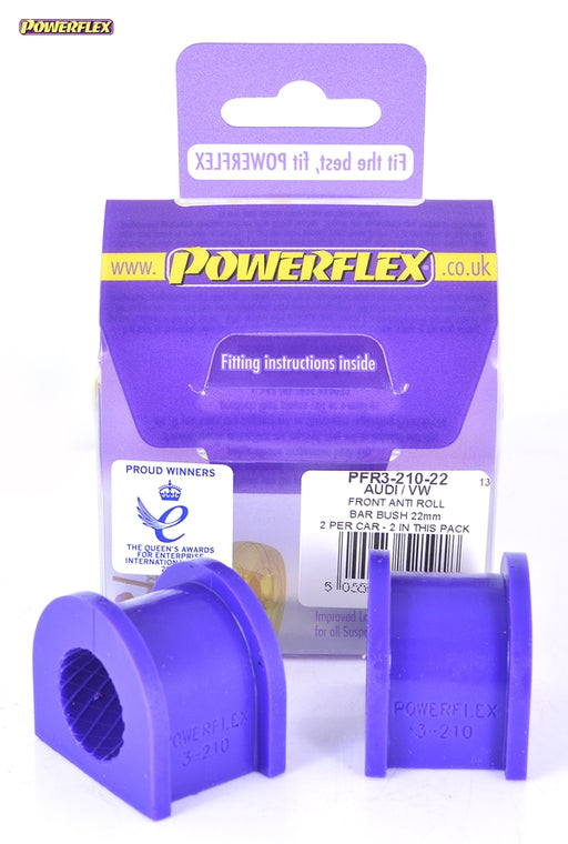 Powerflex Rear Anti Roll Bar Bush 22mm Kit for Audi S4 (B6)