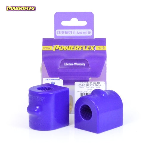 Powerflex Front Anti Roll Bar Bush 18mm Kit for Ford Fiesta (MK6)