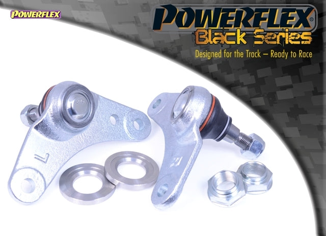 Powerflex Black Series Front Wishbone Inner Ball Joint, Negative Camber Kit for Mini Hatch (R53)