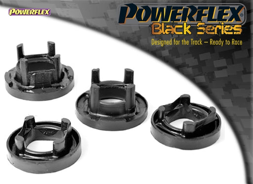 Powerflex Black Series Rear Subframe Front Mount Insert Kit for BMW 1-Series (E82)