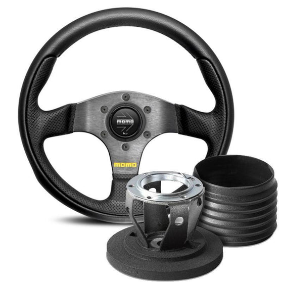 MOMO Team Steering Wheel and Hub Kit for Renault Twingo (MK1)
