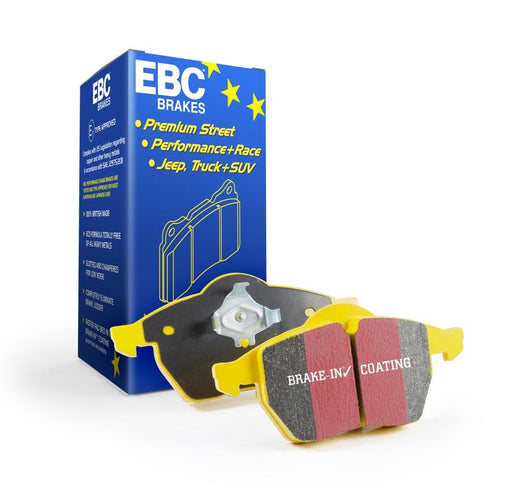EBC Yellowstuff Rear Brake Pads for BMW 1-Series (E81)