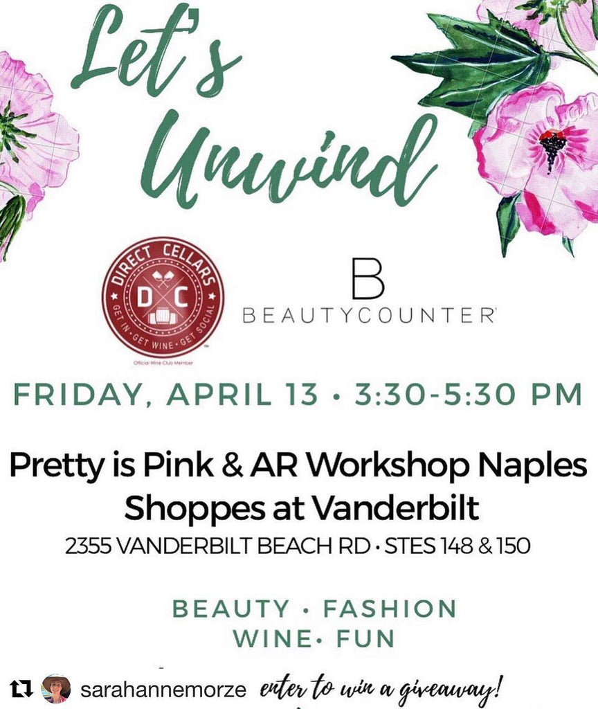 """Let's Unwind"" at The Shoppes at Vanderbilt!"