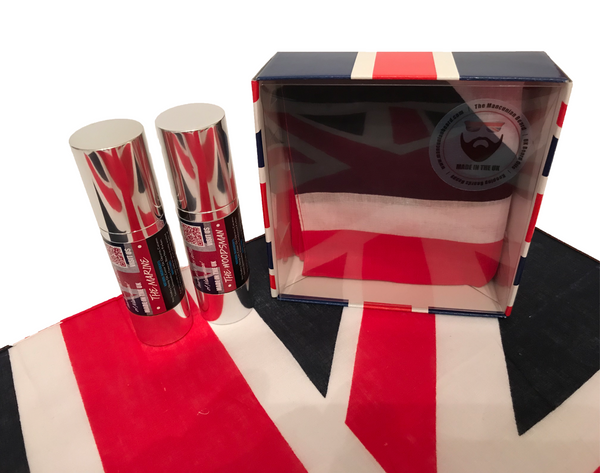 Beard Oil UK - Britannia Box Gift Set