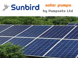 Pumpsets Ltd Sunbird solar powered pumps_borehole and surface mounted