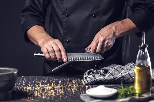 Tips for Sharpening Your Kitchen Knives