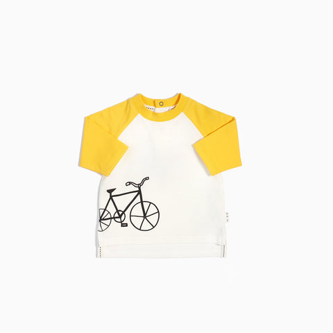 T-Shirt Baseball Vélo