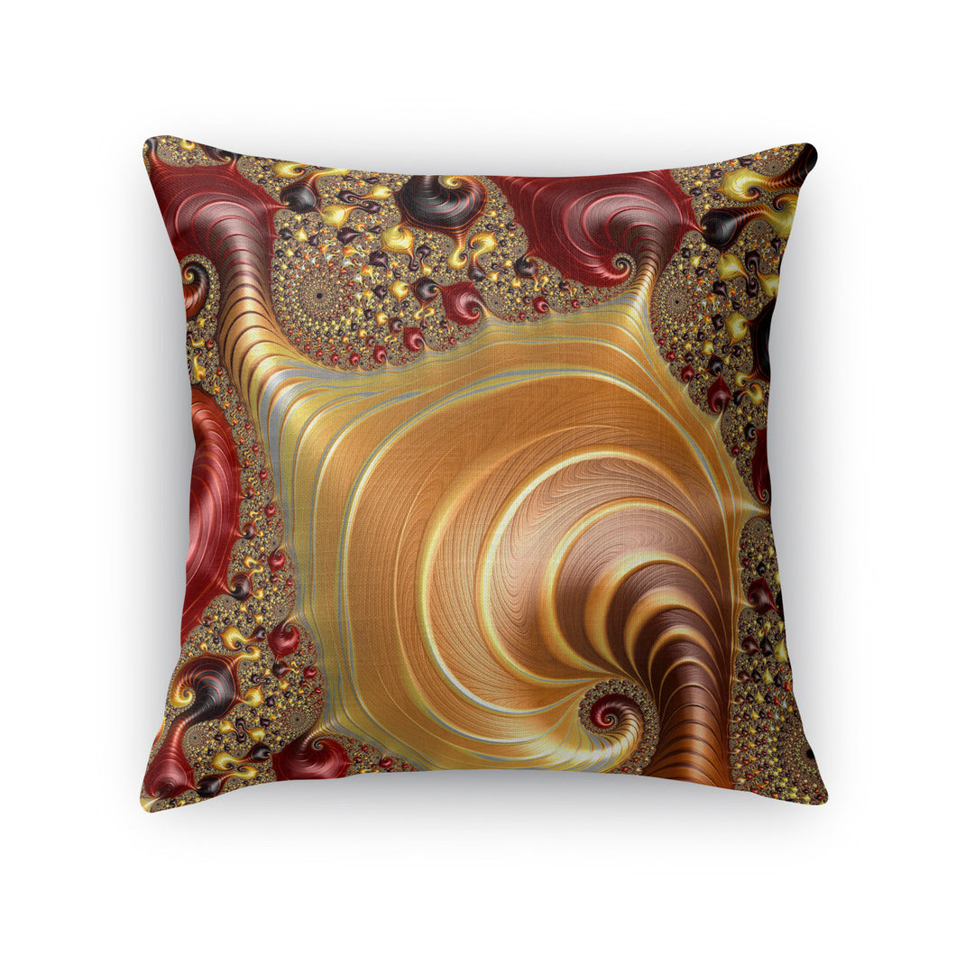 Infinite Invertebrates Throw Pillow