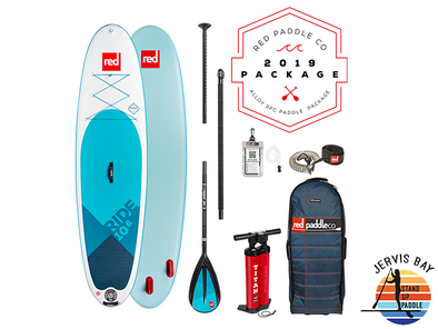Red Paddle Co Ride 2019 Inflatable Paddle Board 10'6 Ride Alloy