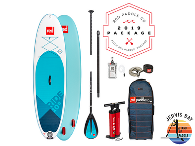 Red Paddle Co Ride 2019 Inflatable Paddle Board 10'8 Ride Alloy