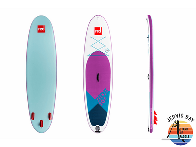 "Red Paddle Co Ride 10'6"" x 32"" Purple SE"