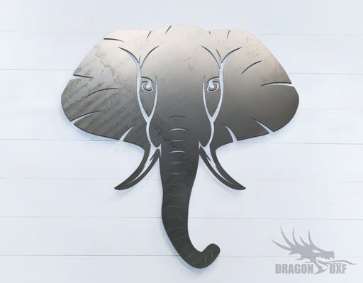 Elephant - Zoo Animals -  DXF Download