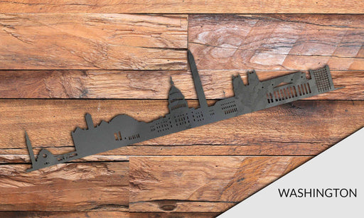 WASHINGTON Cityscape - Downtown Washington Silhouette - DXF Download