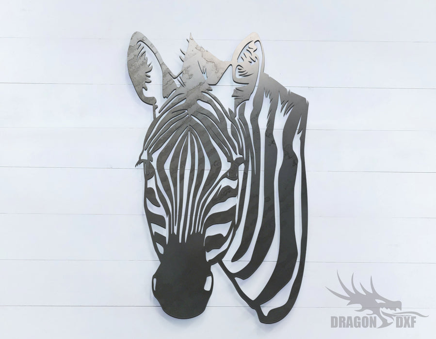 Zebra - Zoo Animals -  DXF Download